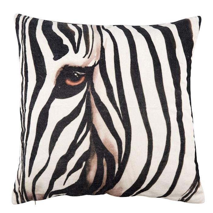 Kudde Zebra 50x50 cm