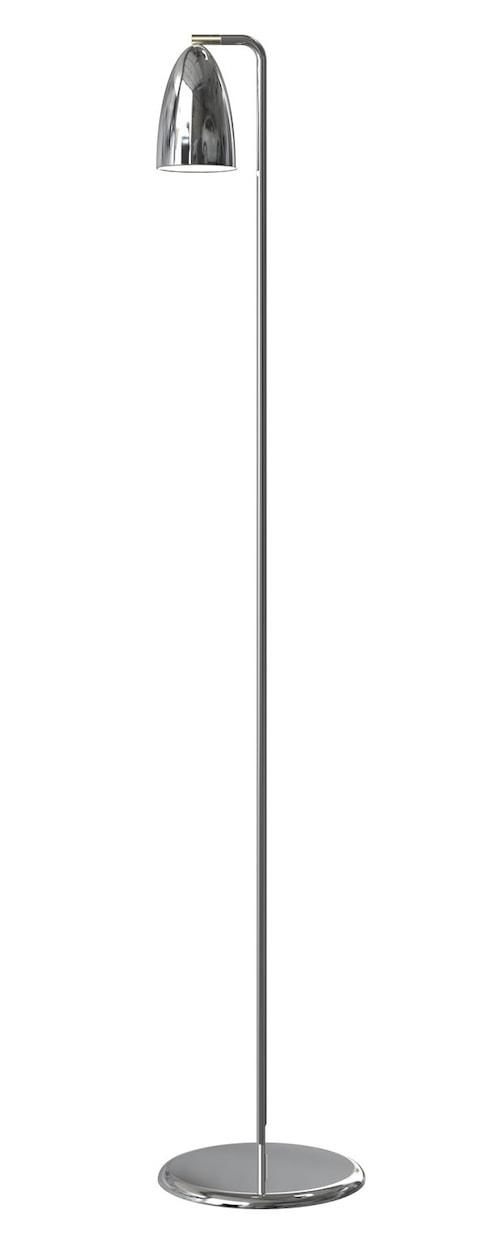 Nexus 10 golvlampa - Krom