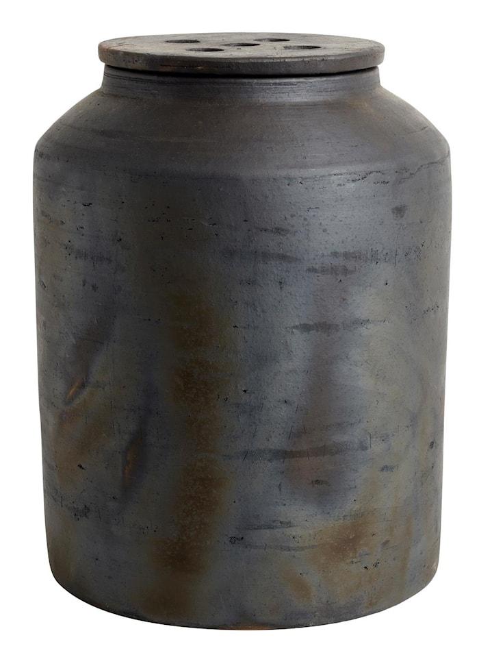 Ruukku kannella Hazel Ruskea Terracotta 31x23 cm