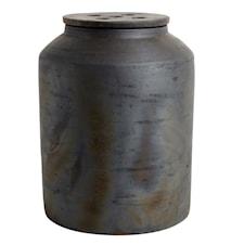 Kruka med lock Hazel Brun Terracotta 31x23 cm