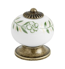 Knob 8131 green / antique - 3.3 cm