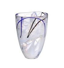 Contrast Hvid Vase 20 cm