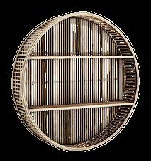 Vägghylla Round Bamboo