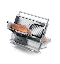 UNA 9 Twin Påleggsmaskin med Taggete + Glatt Knivblad