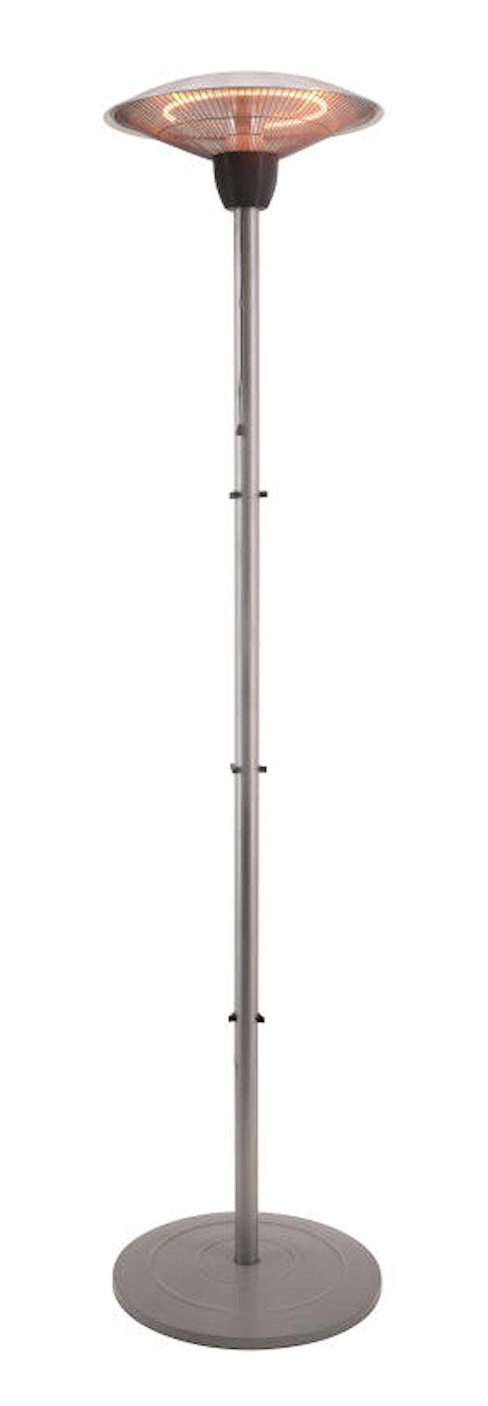Heater Terrassvärmare 44 cm Silver