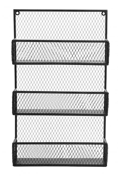 SPICE rack, iron black col.