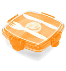 Lunch box, orange