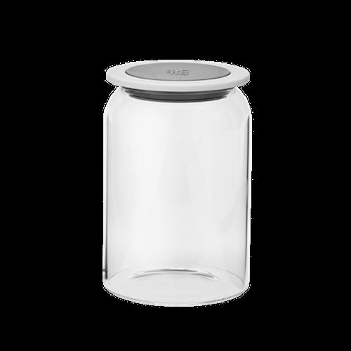 GOODIES förvaringsburk med lock, glas - 1  L