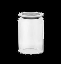 GOODIES Opbevaringsbeholder med låg, glas - 1 L