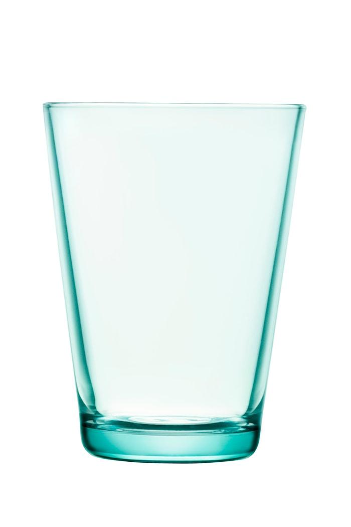 Kartio Glas Vattengrön 40 cl 2-pack