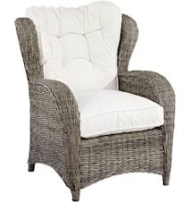 Jacksonville Wingchair exkl. dyna - Kubu Grey