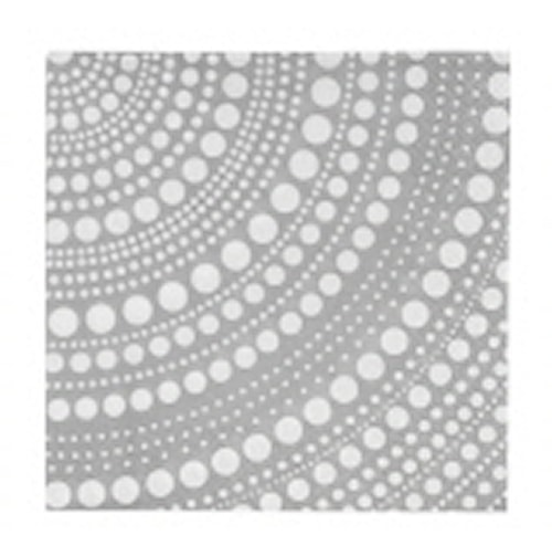 Kastehelmi serviet 33 cm lysgrå