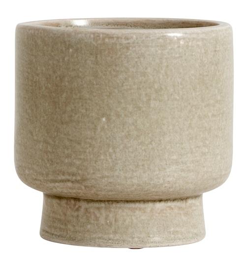 Vas Stoneware Creme Small