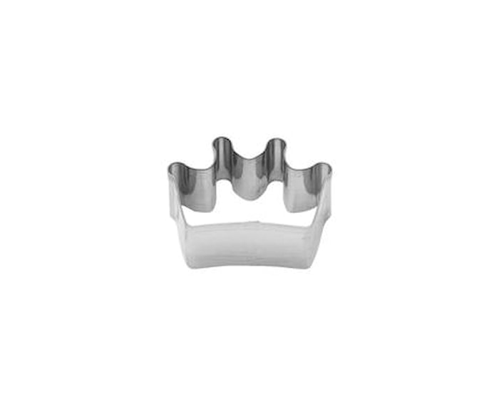 Pepperkakeform krone stål 6 cm