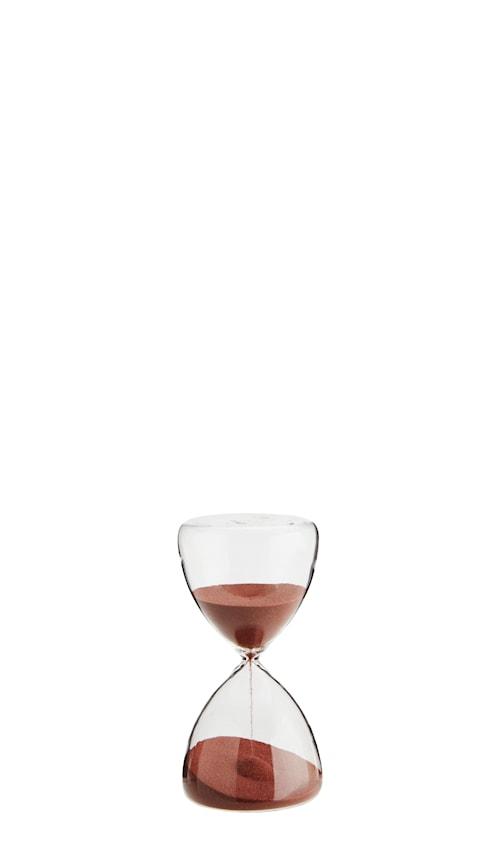 Timeglass Ø 7,5 cm - Chili