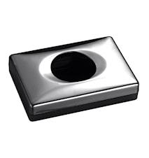 TA818 Hygiejnepapirsholder Black Chrome