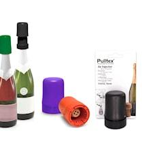 Stopper o tryckkork till mousserande vin