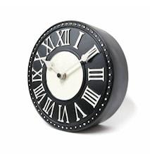 London Bordsklocka Svart 16 cm