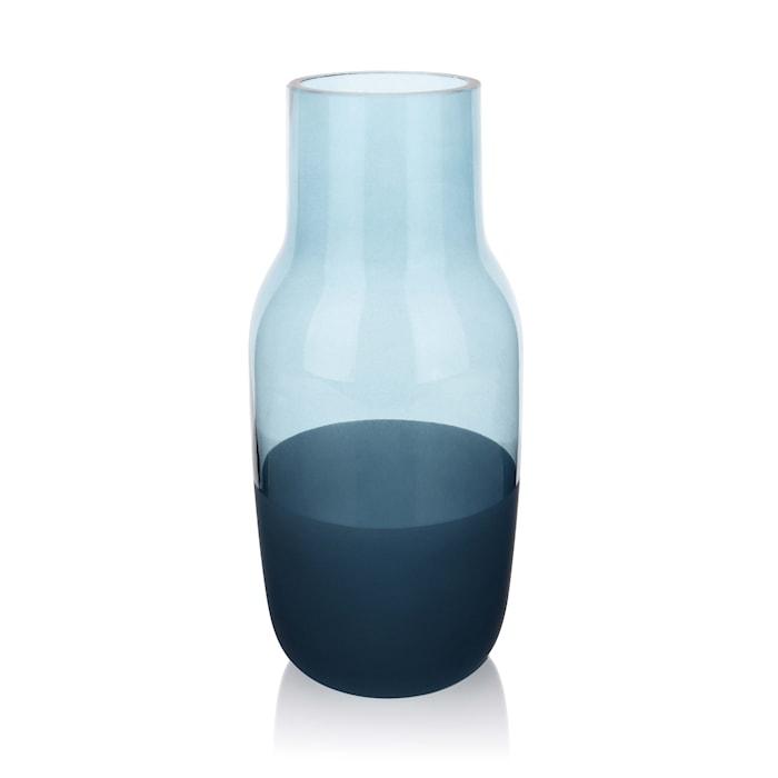 Høj Vase 22 cm - Blå