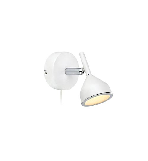 Bell Vägglampa 1 Ljus Vit