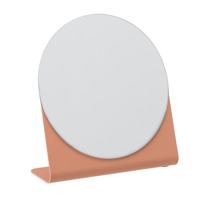 Peili Rosa Metalli 16x14,5 cm