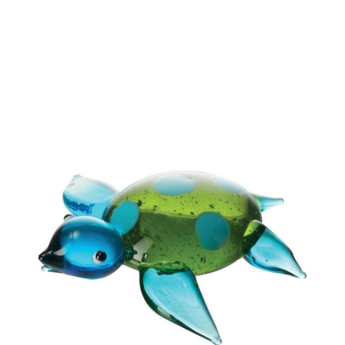 Pynt skillpadde Blå/Grønn