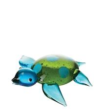 Pynt Skildpadde Blå/Grøn