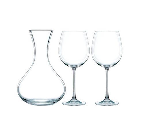Vivendi Karaffel + 2 stk vinglas