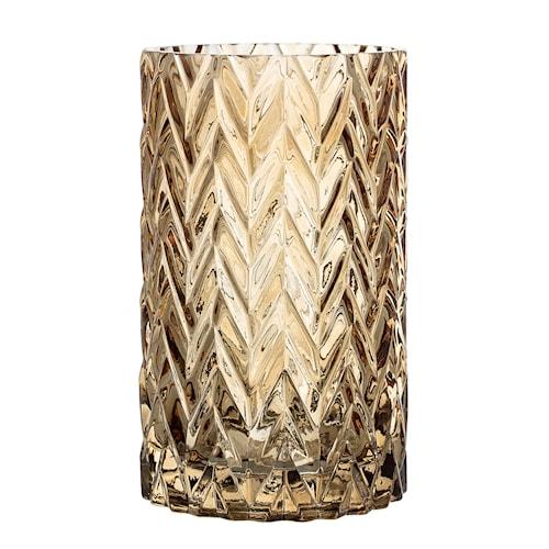 Vase Brun Glas 11,5x20cm