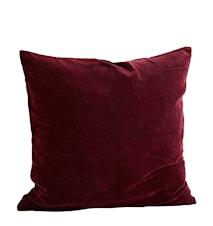 Kuddfodral 60x60 cm Bordeaux