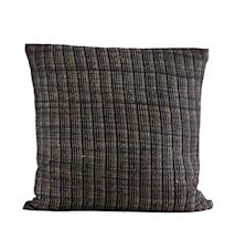 Kuddfodral Ritika Svart 60x60 cm
