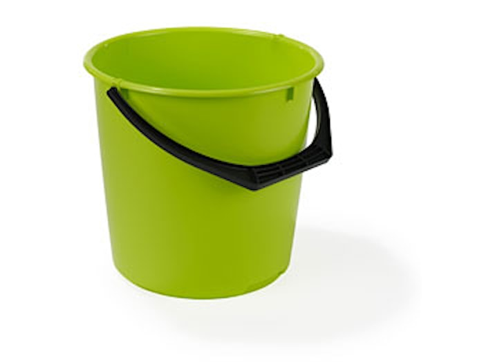 Muoviämpäri 10L Lime Nordiska