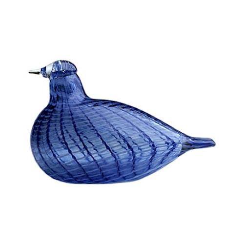 Birds by Toikka blå fjäder fågel 130x85 mm