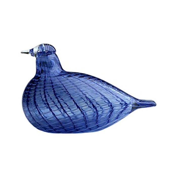 Birds by Toikka blå fjerfugl 130x85 mm