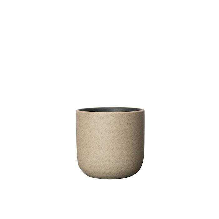 Fumiko Kopp Beige/Svart 7,5 cm