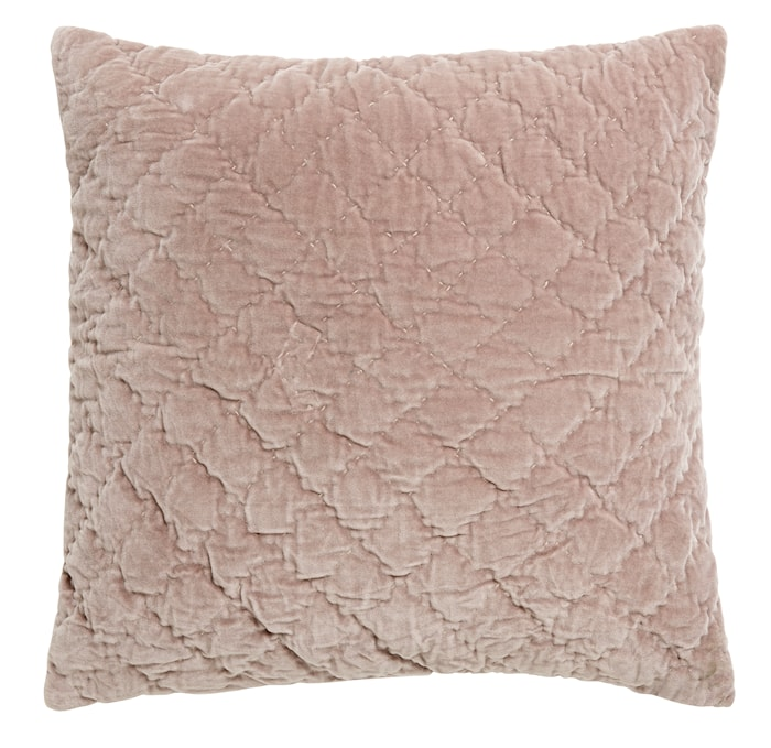 Kuddfodral Quilted 50x50 cm Rosa