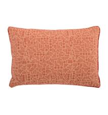 Pude Pattern 60x40 cm Orange
