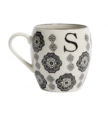 LETTER cup, S, black