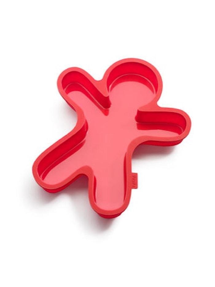Piparkakku-ukko punainen