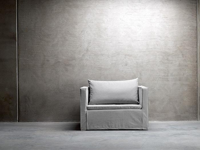 CHAIR 120 lenestol – Grå