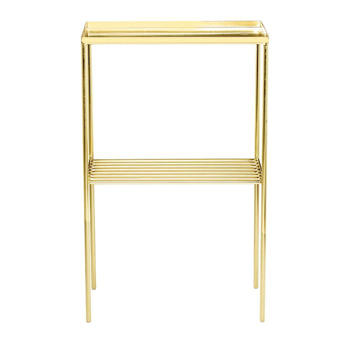 Grid Skænk Guld Metal 50x80x30cm