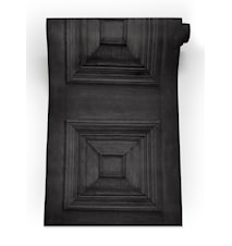 Victorian panelling tapet – Charcoal