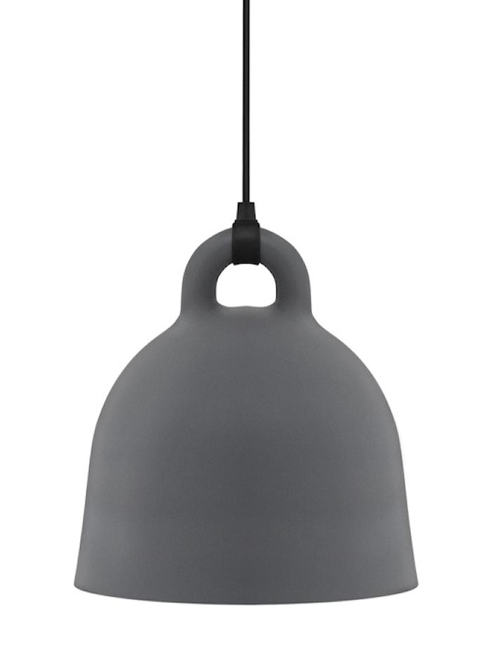 Bell Lampa Grå Medium
