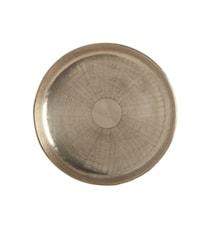 Fat Carve Ø 30 cm Silver
