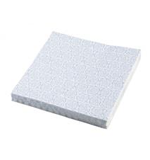 BLOSSOM Papirservietter, turkis, s / 20