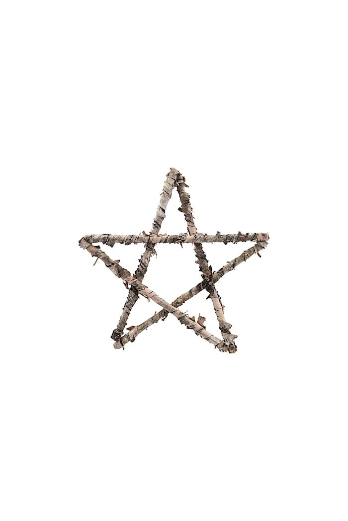 Ornament Star Ø 25 cm - Natur