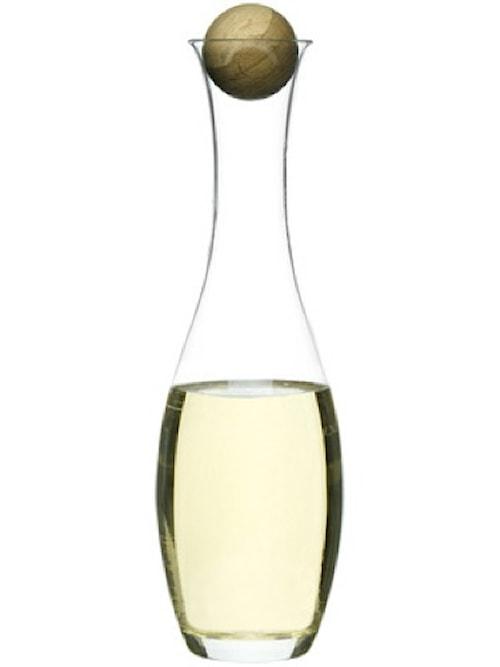 Vin/vannkaraffel med kork 1 L