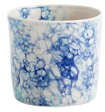 Mugg Deco Ø 8 cm Blå
