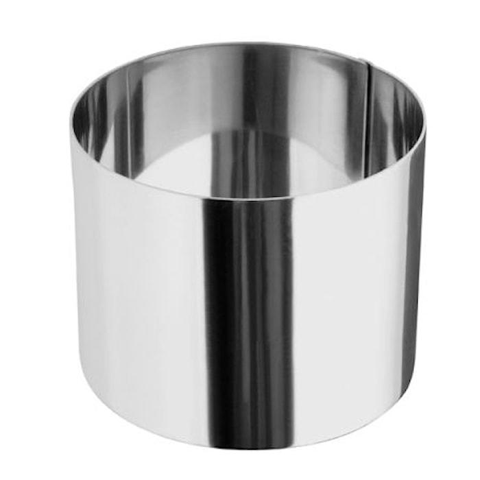 Ring rustfri stål 7 x 5,5 cm
