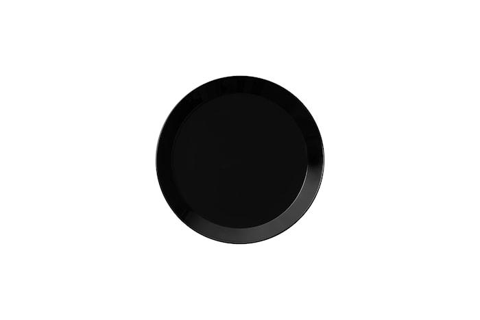 Teema Tallrik 17 cm svart